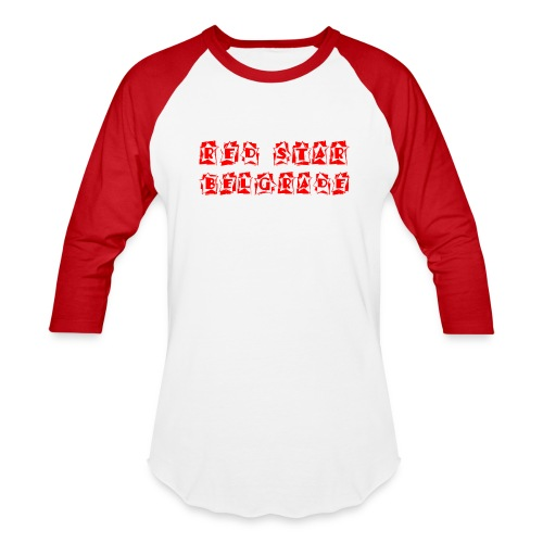 Red Star Belgrade - Baseball T-Shirt