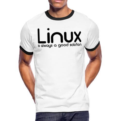 Linux - Men's Ringer T-Shirt