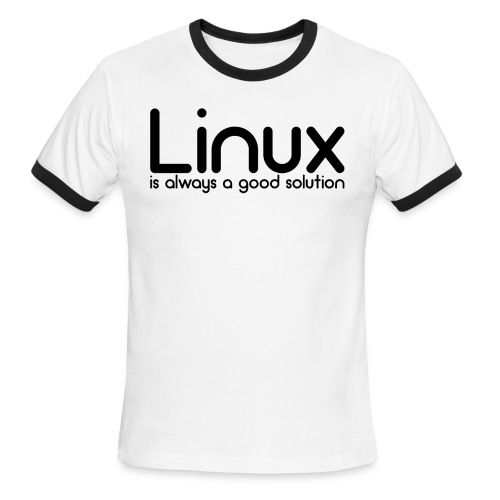 Linux - Men's Ringer T-Shirt