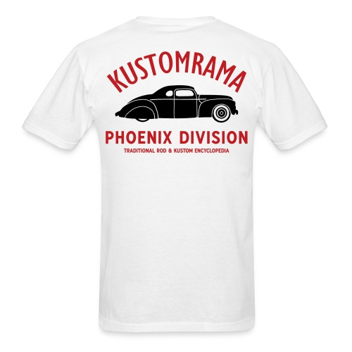 Kustomrama Phoenix Division - Men's T-Shirt