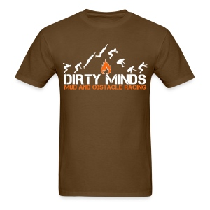 Leap of Faith - Brown - Men's T-Shirt