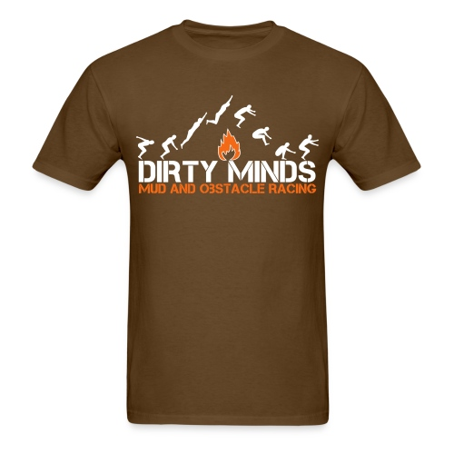 Leap of Faith - Brown - Men's T-Shirt