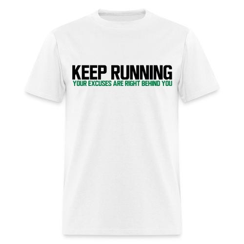 Keep Running - Men's T-Shirt