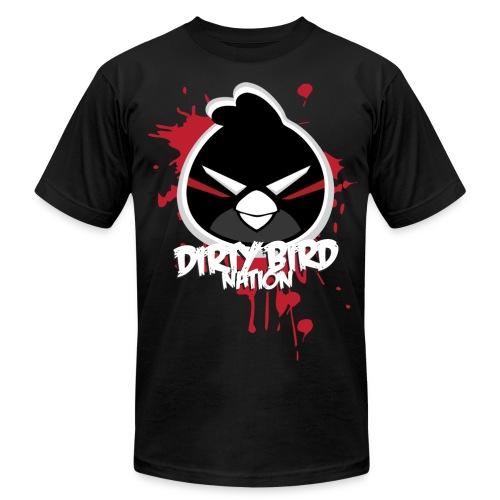 Men's Modern Fitted Dirty Bird Cartoon Tee - Men's  Jersey T-Shirt