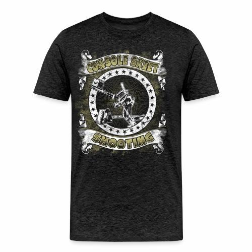 Console Skeet Shooting RDAllen Men's Shirt - Men's Premium T-Shirt