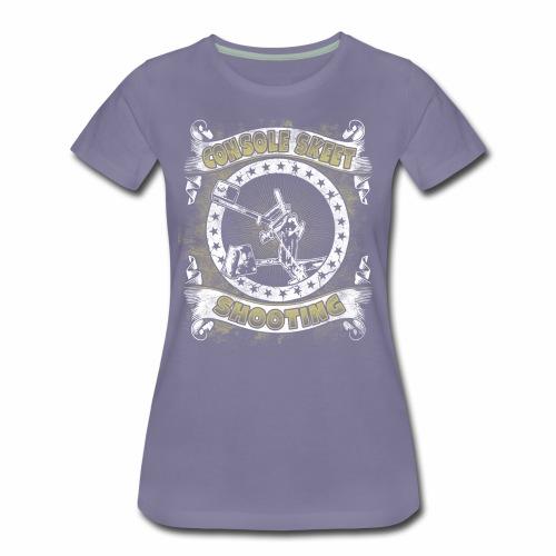 Console Skeet Shooting RDAllen Women's Shirt - Women's Premium T-Shirt