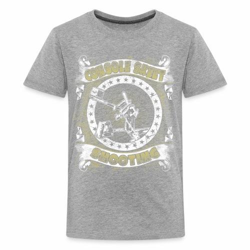 Console Skeet Shooting RDAllen Kid's Shirt - Kids' Premium T-Shirt