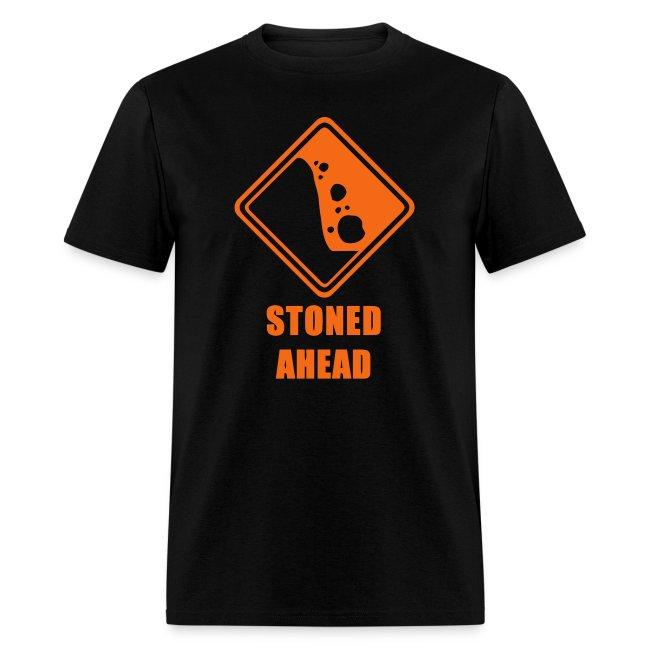 """Caution Stoned Ahead"" T-Shirt Men"
