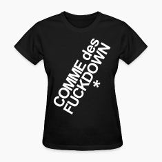 COME DES FUCKDOWN Women's T-Shirts