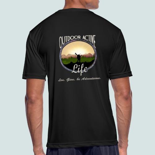Men's Hiker OutdoorActiveLife Moisture Wicking Performance T-Shirt - Men's Moisture Wicking Performance T-Shirt