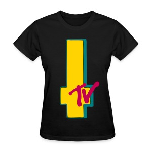 MTV Cross Blk 1 - Women's T-Shirt