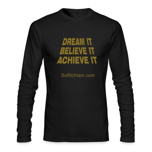 Believe - Men's Long Sleeve T-Shirt by Next Level
