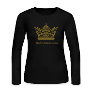 Long Sleeve Shirts ~ Women's Long Sleeve Jersey T-Shirt ~ ★ Kingdom Bound  ★