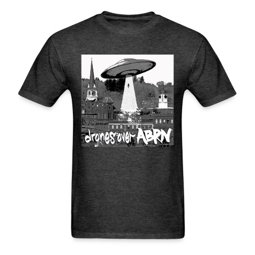 drones over ABRN  - Men's T-Shirt