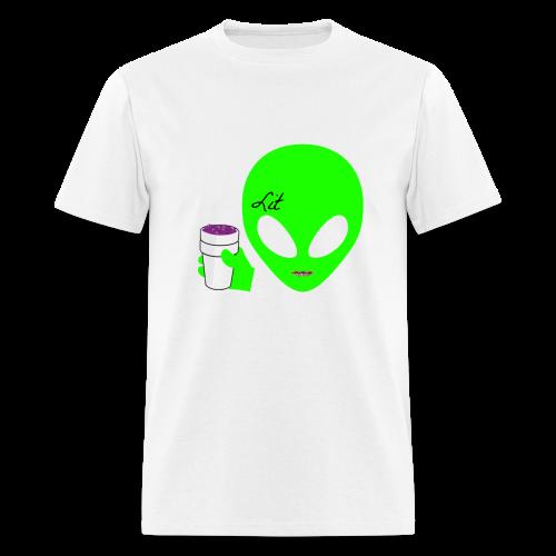 Corrupt Nation Lean Alien T-Shirt - Men's T-Shirt
