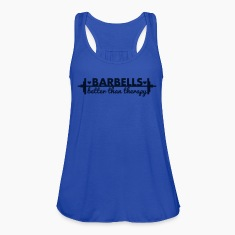Barbells Better Than Therapy - AMRAP Style Tanks
