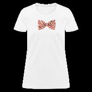 Women's T-Shirts ~ Women's T-Shirt ~ Bow Tie