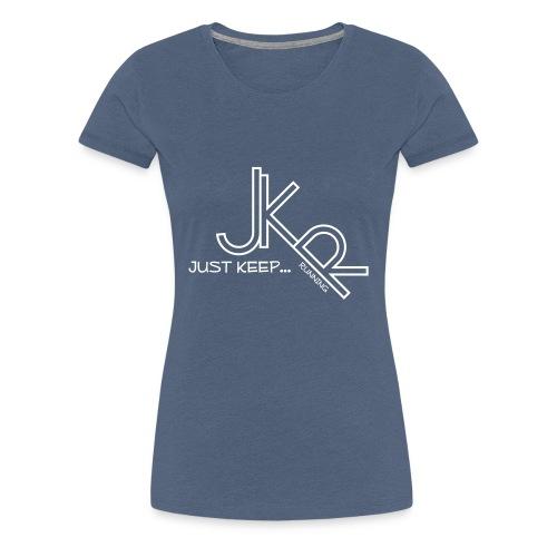 Just Keep...Running - Women's Premium T-Shirt