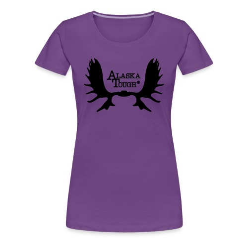 Alaska Tough Logo Shirt for Women  - Women's Premium T-Shirt