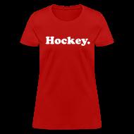 Women's T-Shirts ~ Women's T-Shirt ~ Hockey Period
