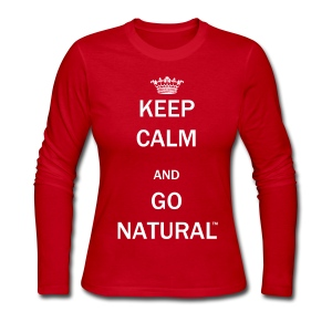 Keel Calm & Go Natural™ Long Sleeve Tshirt - Women's Long Sleeve Jersey T-Shirt