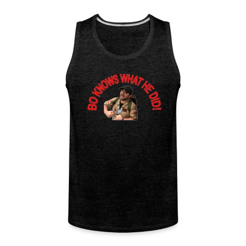 Bo Knows What He Did! Tank Top - Men's Premium Tank