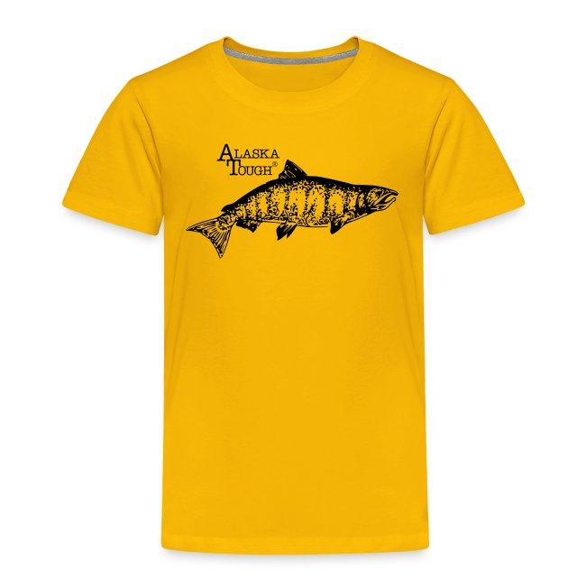 Salmon Fishing T-Shirt for Toddler