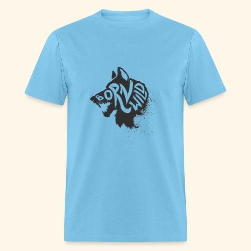Born Wild Mens - Men's T-Shirt