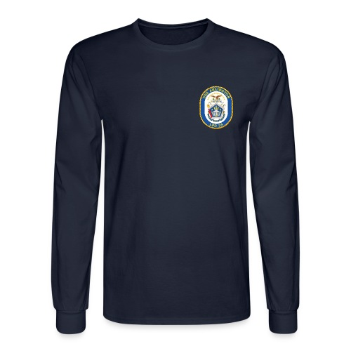 USS ARLINGTON LPD-24 LONG SLEEVE SHIRT - Men's Long Sleeve T-Shirt