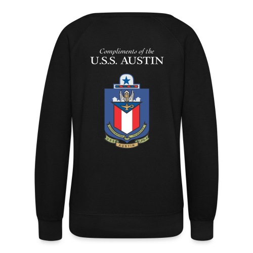 USS Austin LPD 4 GOT FREEDOM SWEATSHIRT - FAMILY - Women's Crewneck Sweatshirt
