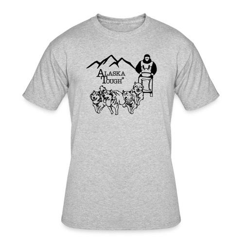 Mushing T-Shirt for Men - Men's 50/50 T-Shirt