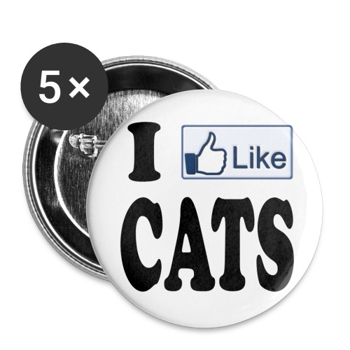 cat button  - Large Buttons