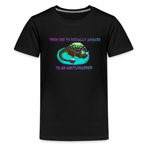 Akward Ankylosaurus Kid's - Kids' Premium T-Shirt