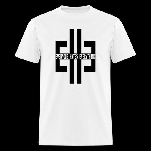 EHE Logo Inverted on White T-Shirt - Men's T-Shirt