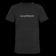 T-Shirts ~ Unisex Tri-Blend T-Shirt ~ Illuminati Trademark T Shirt
