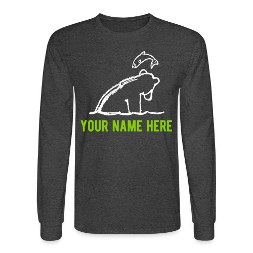 Otis Long-Sleeve T-Shirt w/ Your Name - Men's Long Sleeve T-Shirt