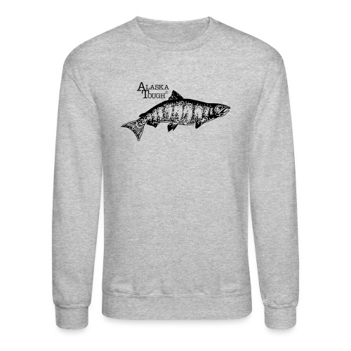 Salmon Fishing Sweatshirt for Men - Crewneck Sweatshirt