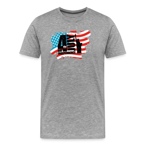 fourth of july t-shirt - Men's Premium T-Shirt