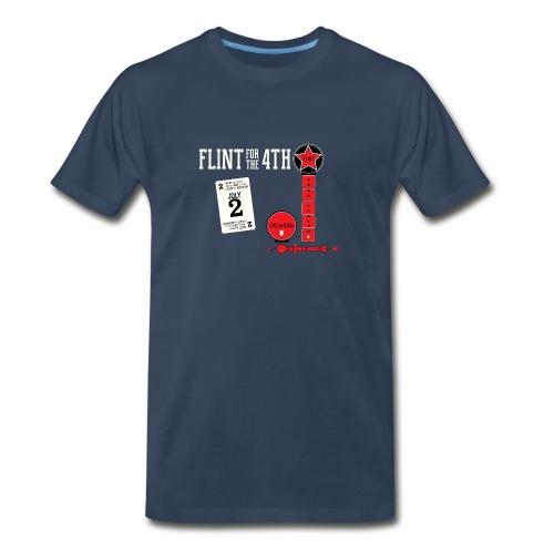 Flint for the 4th 2016 - Sorry (Oklahoma Version) SOFT SHIRT - Men's Premium T-Shirt