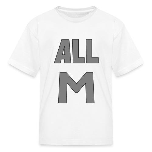 All M - Kids' T-Shirt