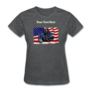 Ladies T Front FlagVulVoy Custom - Women's T-Shirt
