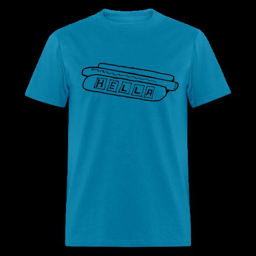 Hella Hot Dog - Men's T-Shirt