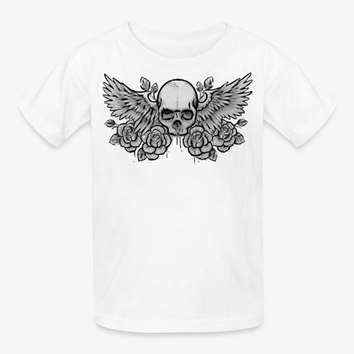Kid's Standard Winged-Skull Tee - Kids' T-Shirt