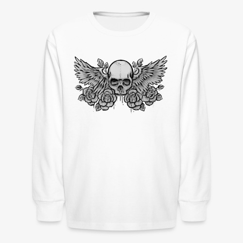 Kid's L/S Winged-Skull Tee - Kids' Long Sleeve T-Shirt
