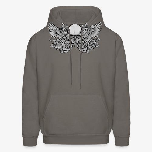 Men's Standard Winged-Skull Hoodie - Men's Hoodie