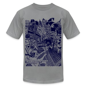 Dub Champions Festival NYC men's tee - Men's T-Shirt by American Apparel