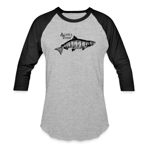 Salmon Fishing T-Shirt for Men and Women - Baseball T-Shirt