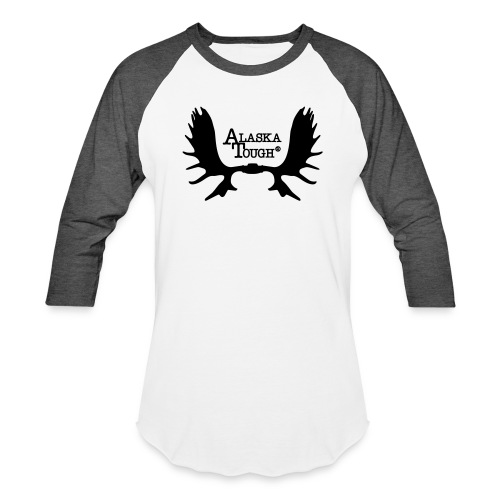 Moose T-Shirt with Antlers for Men and Women  - Baseball T-Shirt