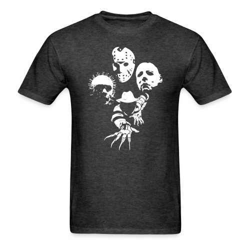 Horror Icons Band Men's Tee - Men's T-Shirt
