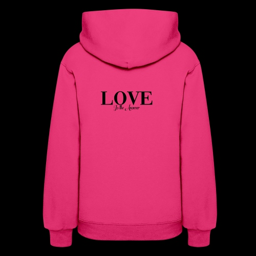 LOVE IS THE ANSWER - Women's Hoodie